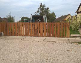 Kertkapuk, kerítések